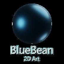 BlueBean2DArt.png