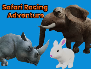 RabbitRun Kids Agora é Safari Racing Adventure!!!