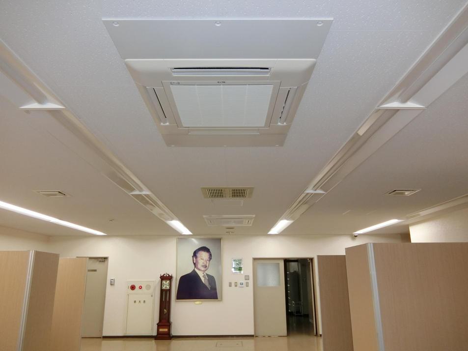 高効率空調機・高効率LED照明