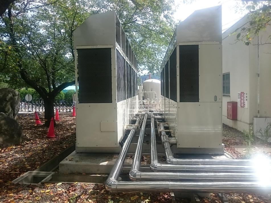 高効率空調室外機GHP