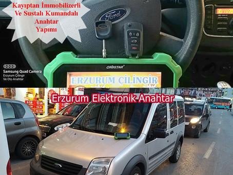 2012 Ford Transit Connect Kayıptan İmmobilizerli Ve Sustalı Kumandalı Anahtar Yapımı