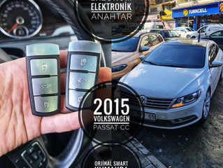 2015 Volkswagen Passat CC Orjinal Smart Kumanda Yapımı