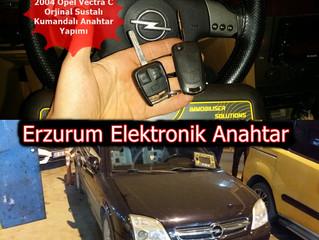 2004 Opel Vectra C Orjinal Sustalı Kumandalı Anahtar Yapımı