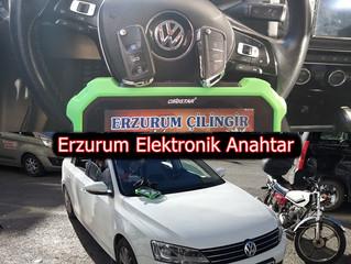 2015 Volkswagen Jetta Sustalı Kumandalı Anahtar Yapımı