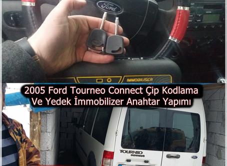 2005 Ford Tourneo Connect Çip Kodlama Ve Yedek İmmobilizer Anahtar Yapımı
