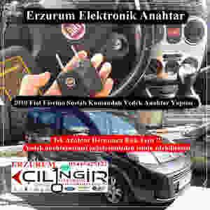 2010 Fiat Fiorino Sustalı Kumandalı Yedek Anahtar Yapımı