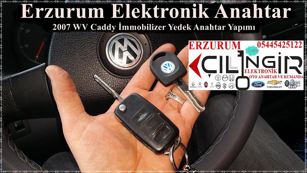 2007 WV Caddy İmmobilizer Yedek Anahtar Yapımı