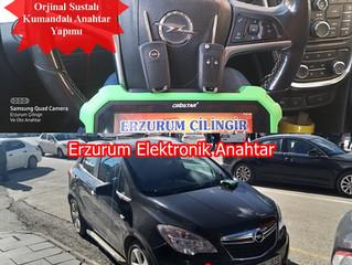 2012 Opel Mokka Orjinal Sustalı Kumandalı Anahtar Yapımı