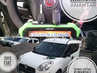 2012 Fiat Doblo Orjinal Sustalı Kumandalı Anahtar Yapımı