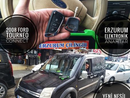 2008 Ford Tourneo Connect Yeni Nesil Sustalı Kumandalı Anahtar Yapımı