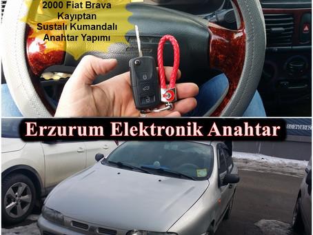 2000 Fiat Brava Kayıptan Sustalı Kumandalı Anahtar Yapımı