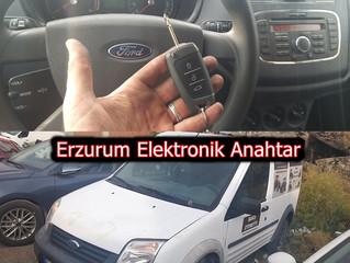 2010 Ford Transit Connect Kayıptan Sustalı Kumandalı Anahtar Yapımı