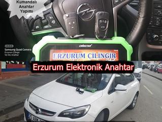 2017 Opel Astra K Yeni Nesil Sustalı Kumandalı Anahtar Yapımı