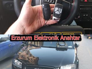 2006 Audi A3 Yedek Sustalı Kumandalı Anahtar Yapımı