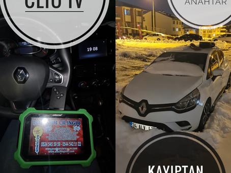 2017 Renault Clio IV Kayıptan Orjinal Smart Kart Yapımı