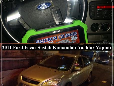 2011 Ford Focus Sustalı Kumandalı Anahtar Yapımı