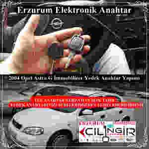 2004 Opel Astra G İmmobilizer Yedek Anahtar Yapımı