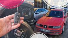 2003 Seat Toledo Kayıptan Sustalı Kumandalı Anahtar Yapımı