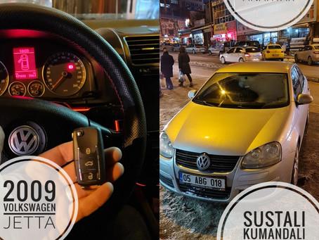 2009 Volkswagen Jetta Sustalı Kumandalı Anahtar Yapımı