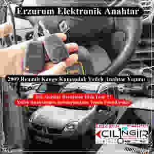 2009 Renault Kango Kumandalı Yedek Anahtar Yapımı