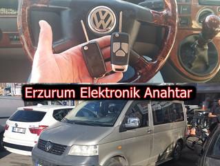 2006 Volkswagen Transporter Yedek Sustalı Kumandalı Anahtar Yapımı