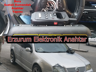 2000 Volkswagen Bora Sustalı Kumandalı Anahtar Yapımı