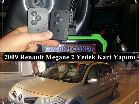 2009 Renault Megane 2 Yedek Kart Yapımı