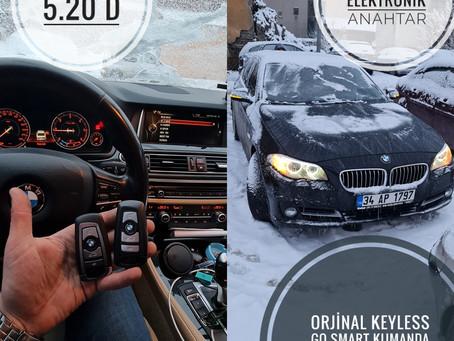 2016 Bmw 5.20 D Orjinal Keyless Go Smart Kumanda Yapımı
