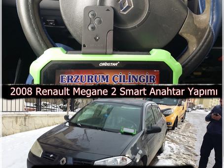 2008 Renault Megane 2 Smart Anahtar Yapımı