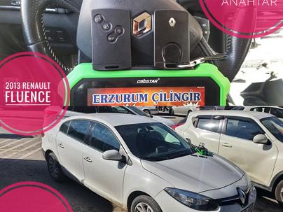 2013 Renault Fluence Orjinal Keyless Go Smart Kart Yapımı