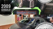 2009 Citröen C4 Sustalı Kumandalı Anahtar Yapımı