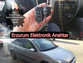 2001 Ford Focus Sustalı Kumandalı Anahtar Yapımı