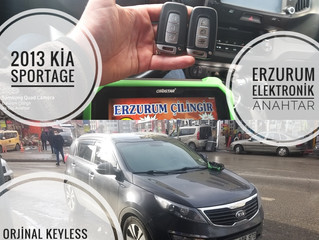 2013 Kia Sportage Orjinal Keyless Go Smart Anahtar Yapımı