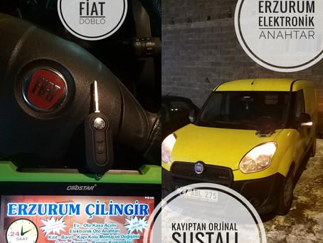 2014 Fiat Doblo Kayıptan Orjinal Sustalı Kumandalı Anahtar Yapımı