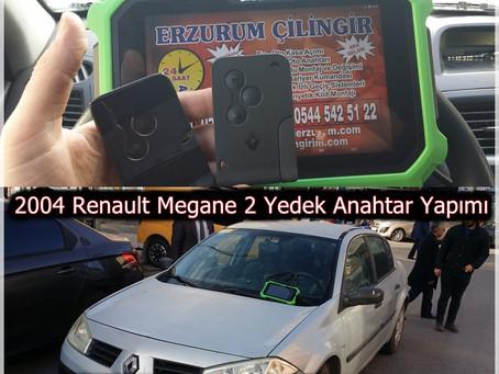 2004 Renault Megane 2 Yedek Anahtar Yapımı