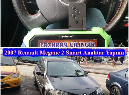 2007 Renault Megane 2 Smart Anahtar Yapımı