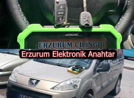 2011 Peugeot Partner İmmobilizer Anahtar Yapımı