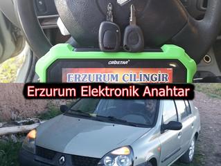 2004 Renault Clio II Kayıptan Orjinal Kumandalı Anahtar Yapımı