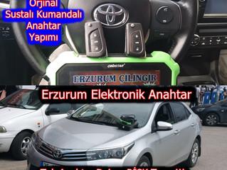 2014 Toyota Corolla Orjinal Sustalı Kumandalı Anahtar Yapımı