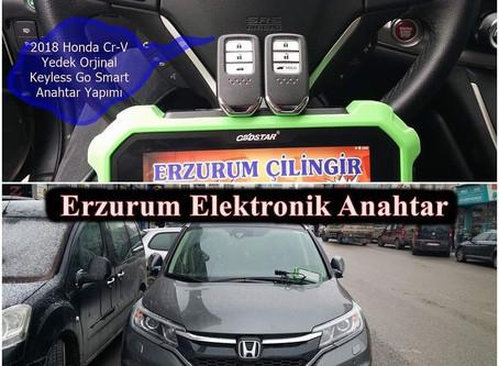 2018 Honda Cr-V Yedek Orjinal Keyless Go Smart Anahtar Yapımı