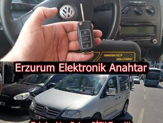2009 Volkswagen Caddy Sustalı Kumandalı Anahtar Yapımı