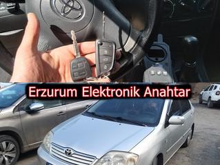 2006 Toyota Corolla Sustalı Kumandalı Anahtar Yapımı