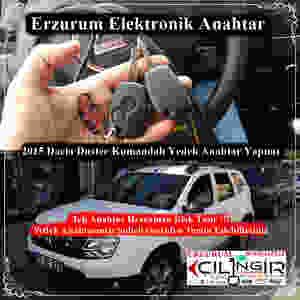2015 Dacia Duster Kumandalı Yedek Anahtar Yapımı