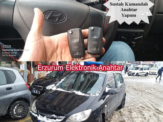 2010 Hyundai Getz Sustalı Kumandalı Anahtar Yapımı