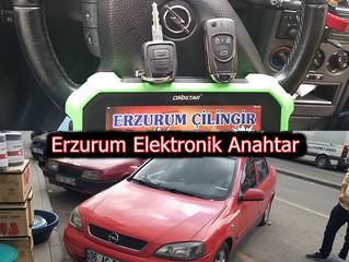 2003 Opel Astra G Sustalı Kumandalı Anahtar Yapımı