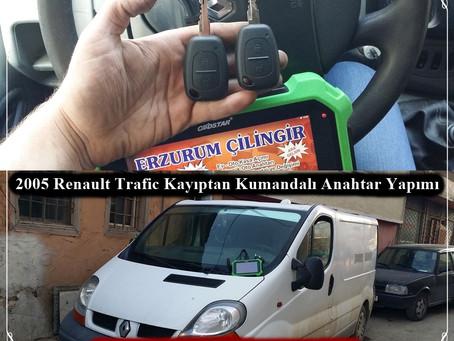 2005 Renault Trafic Kayıptan Kumandalı Anahtar Yapımı