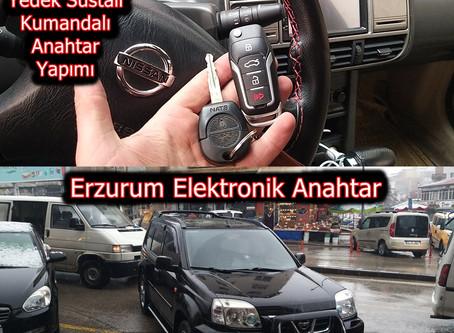 2004 Nissan Xtrail Yedek Sustalı Kumandalı Anahtar Yapımı