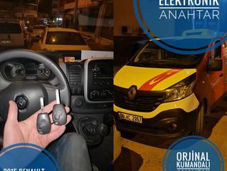 2015 Renault Trafic Orjinal Kumandalı Anahtar Yapımı