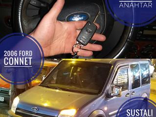 2006 Ford Connect Sustalı Kumandalı Anahtar Yapımı