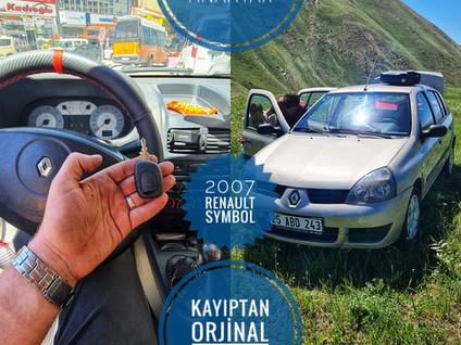 2007 Renault Symbol Kayıptan Orjinal Kumandalı Anahtar Yapımı